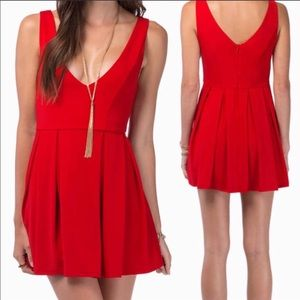 Classic red dress from TOBI